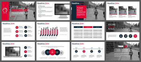 Business presentation slides templates from infographic