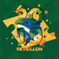 vector de reveillon