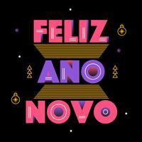 Feliz Ano Novo Vector