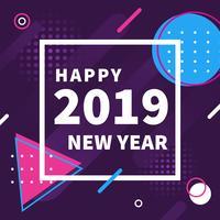 Feliz año nuevo Instagram Post