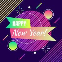 Frohes neues Jahr Vorlage