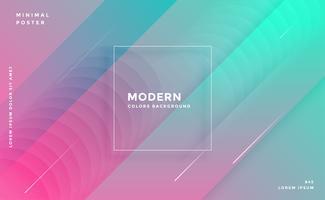 modern abstrakt trendig färgrik geometrisk bakgrund