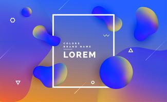 modern liquid color fluid gradient background design