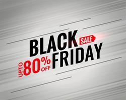 svart fredag försäljning affischdesign