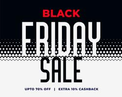 abstract black friday sale halftone style background