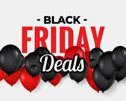astratto banner design di vendita venerdì nero