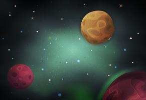 Scifi Space Background Para O Jogo De Ui