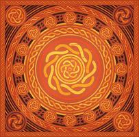 Fundo abstrato Mandala