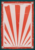 Cuarto del cartel del fondo del vintage de julio
