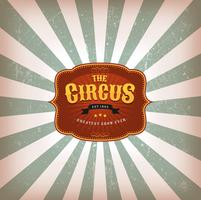 Retro Circus Background With Texture