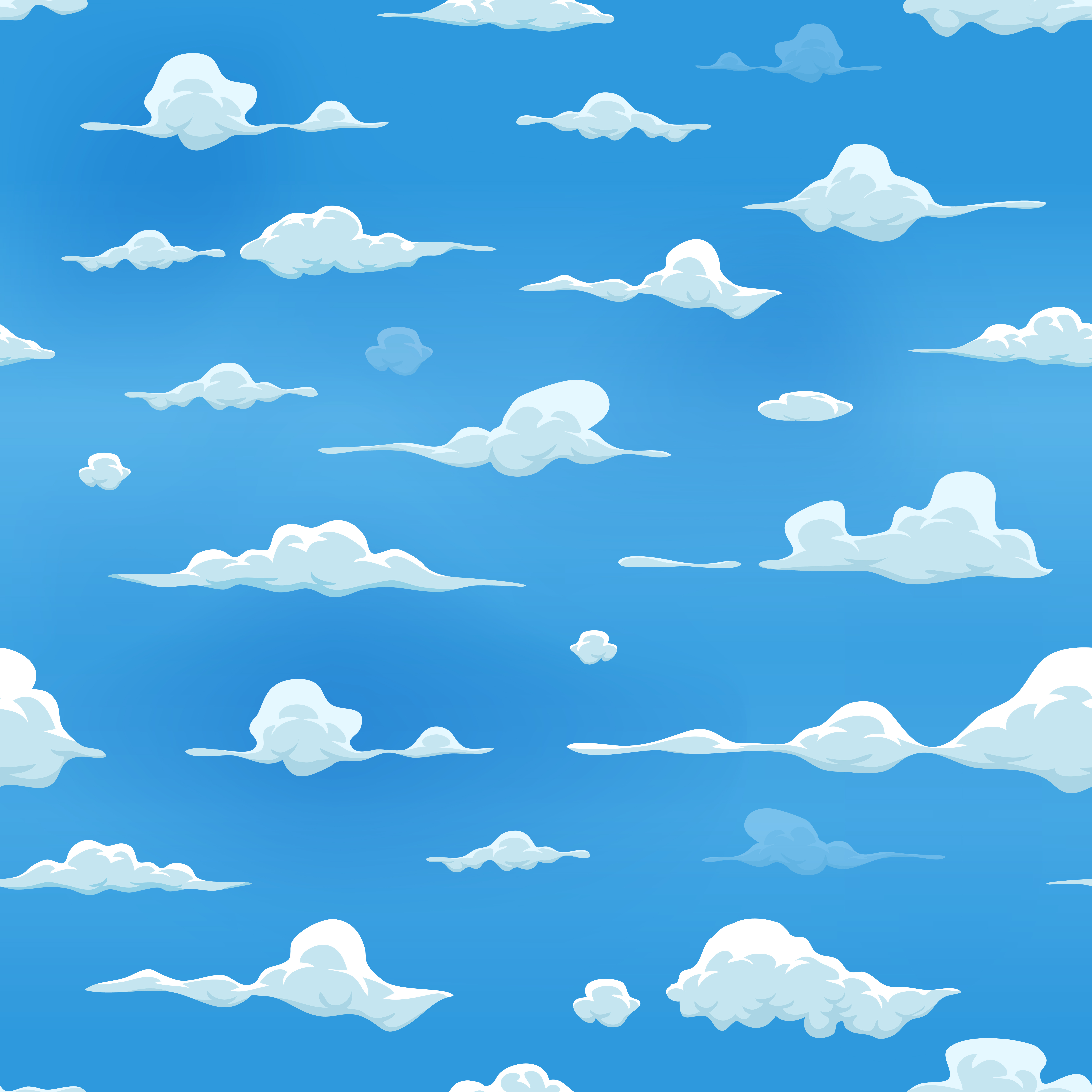 Download 105 Background Blue Cartoon Paling Keren