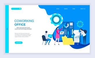Coworking Office Web Banner