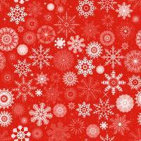 Fondo inconsútil de los copos de nieve de Navidad