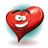 Funny Heart Character