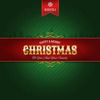 Retro Christmas Ornament Background vector
