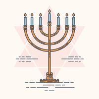 Vecteur Menorah