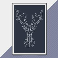 Vector Geometric Shape Animal