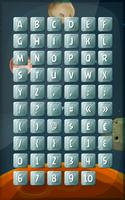ABC Keyboard Buttons On Space Background