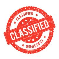 Classified File Seal Certificate