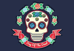 Day Of The Dead Vector Illustration