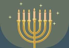 Menorah Vector Illustration
