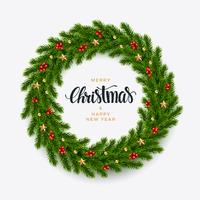 Fundo de abeto de Natal, olhar realista, projeto de férias