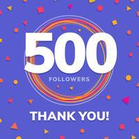 1000 followers, social sites post, greeting card