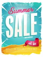 sommarförsäljning mall banner