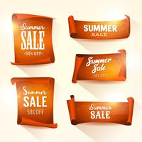 Summer Sales On Shining Parchment Scroll Set