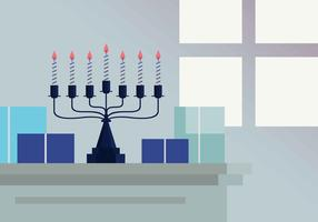 Menorah vektor illustration