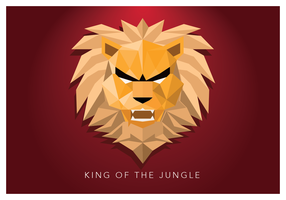 King Of The Jungle Geometric Shape