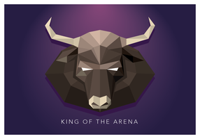 King Of The Arena Geometric Shape
