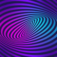 Stripes Movement Illusion Colorful Background