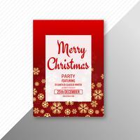 Mooi de vliegermalplaatje van festival vrolijk Kerstmis ontwerp