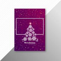 Mooi vrolijk van de de brochurepartij van de Kerstmiskaart het malplaatjeontwerp