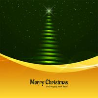 Beautiful glitters Merry christmas tree background