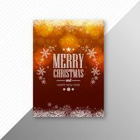 Schönes buntes heiraten Weihnachtsfestfliegerschablonen-Design v