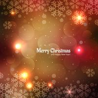 Beautiful festival merry christmas card background