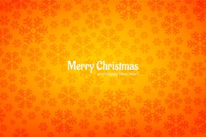 Snowflake decorative merry christmas card background