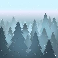 Abstracte winter Sepia landschap achtergrond afbeelding
