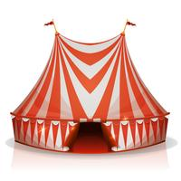 Big Top Circus Tent vector