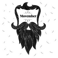 Cute Mustache To Movember