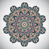 Decorative mandala design