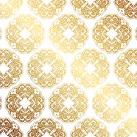 Decorative gold pattern background