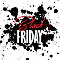 Black Friday grunge sale background