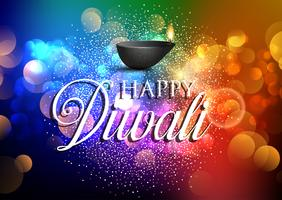 Colourful Diwali background