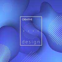 Creative design background vector