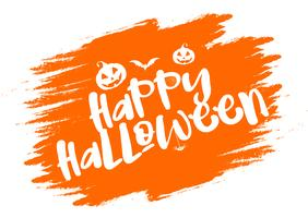 Grunge Halloween typography background