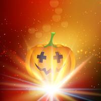Fondo de calabaza de Halloween