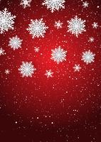 Weihnachtsschneeflocken Hintergrund